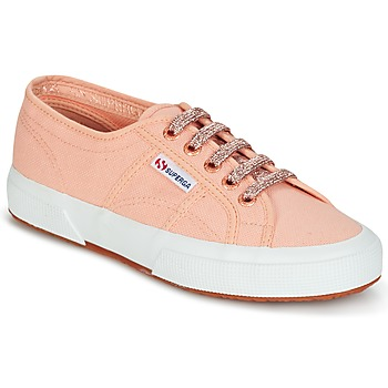 Sko Dame Lave sneakers Superga 2750 CLASSIC SUPER GIRL EXCLUSIVE Pink