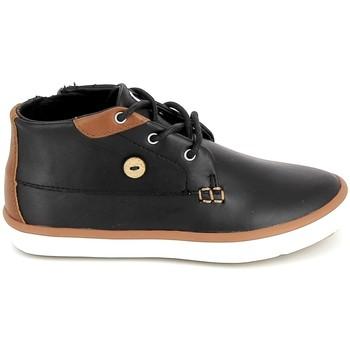 Sko Børn Høje sneakers Faguo Wattle Leather BB Noir Sort