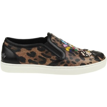 Sko Dame Slip-on D&G CK0028 AG352 HA94N multicolore