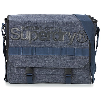 Tasker Skuldertasker Superdry MERCHANT MESSENGER BAG Marineblå