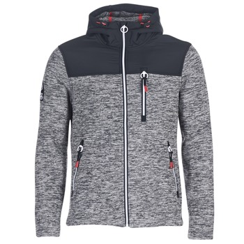 textil Herre Sweatshirts Superdry STORM MOUNTAIN ZIPHOOD Grå