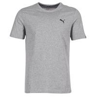 textil Herre T-shirts m. korte ærmer Puma ESS TEE Grå