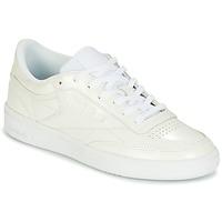 Sko Dame Lave sneakers Reebok Classic CLUB C 85 PATENT Hvid