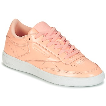 Sko Dame Lave sneakers Reebok Classic CLUB C 85 PATENT Pink