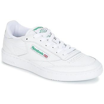 Sko Lave sneakers Reebok Classic CLUB C 85 Hvid / Grøn