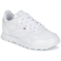 Sko Pige Lave sneakers Reebok Classic CLASSIC LEATHER PATENT Hvid