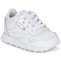 Sko Pige Lave sneakers Reebok Classic CLASSIC LEATHER PATENT Hvid