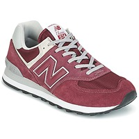 Sko Lave sneakers New Balance ML574 Bordeaux