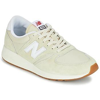 Sko Dame Lave sneakers New Balance WRL420 Beige
