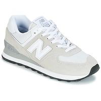 Sko Dame Lave sneakers New Balance WL574 Hvid