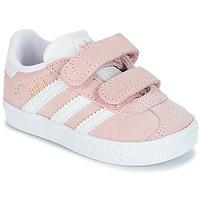 Sko Pige Lave sneakers adidas Originals GAZELLE CF I Pink