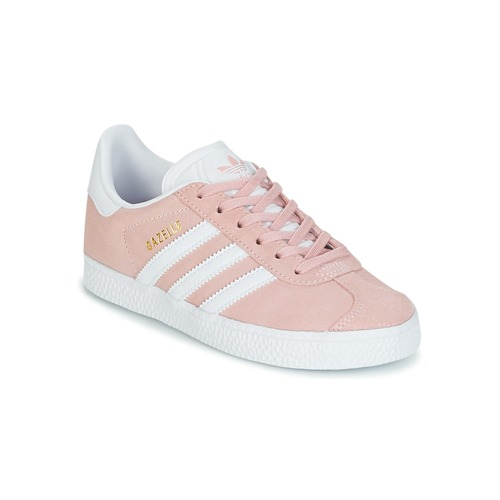 Sko Pige Lave sneakers adidas Originals GAZELLE C Pink