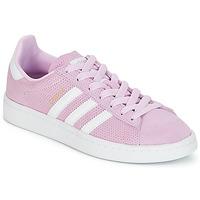 Sko Pige Lave sneakers adidas Originals CAMPUS J Pink
