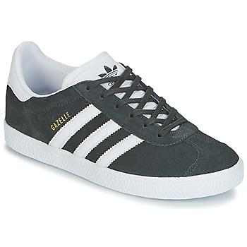Sko Børn Lave sneakers adidas Originals GAZELLE J Grå