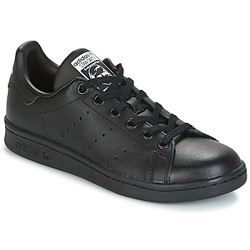 Sko Børn Lave sneakers adidas Originals STAN SMITH J Sort
