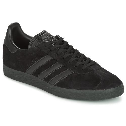 Sko Lave sneakers adidas Originals GAZELLE Sort