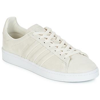 Sko Lave sneakers adidas Originals CAMPUS STITCH AND T Hvid / Kridt