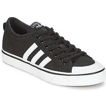 Sko Herre Lave sneakers adidas Originals NIZZA Sort