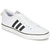 Sko Lave sneakers adidas Originals NIZZA Hvid