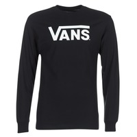 textil Herre Langærmede T-shirts Vans VANS CLASSIC Sort