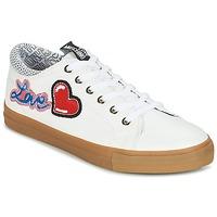 Sko Dame Lave sneakers Love Moschino JA15213G15 Hvid