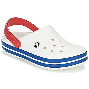 Sko Træsko Crocs CROCBAND Hvid / Blå / Rød