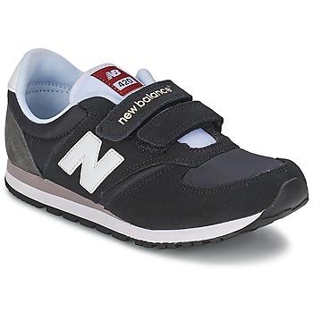 Sko Børn Lave sneakers New Balance KE420 Sort / Grå