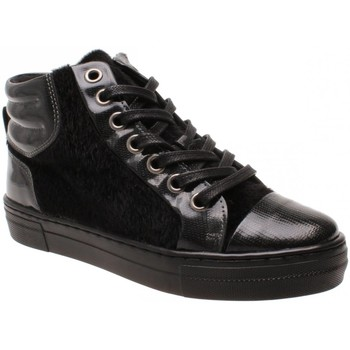 Sko Dame Høje sneakers Copenhagen Shoes PETRI CS1418  05-0066 black