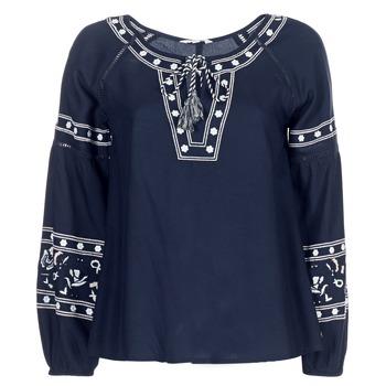 textil Dame Toppe / Bluser Deeluxe BERTHA Marineblå