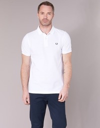 textil Herre Polo-t-shirts m. korte ærmer Fred Perry THE FRED PERRY SHIRT Hvid