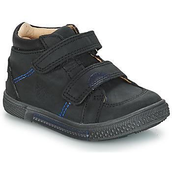Sko Dreng Høje sneakers GBB ROBERT Sort