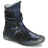 Sko Pige Høje sneakers GBB ROSANA Blå / Sort