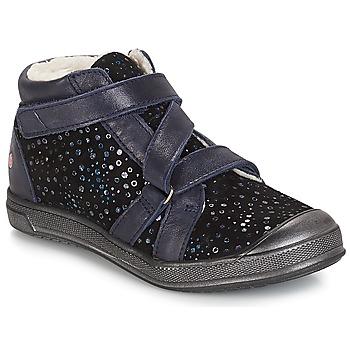 Sko Pige Lave sneakers GBB NADEGE Vte / Sort / Confetti / Dch / Edit