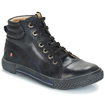 Sko Dreng Høje sneakers GBB RALPH Sort