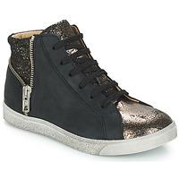 Sko Pige Høje sneakers GBB CARLA Sort / Bronze
