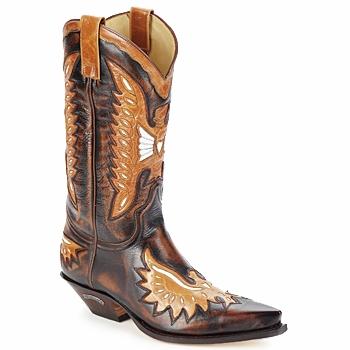 Sko Herre Chikke støvler Sendra boots CHELY Brun