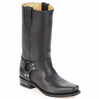 Sko Herre Chikke støvler Sendra boots EDDY Sort