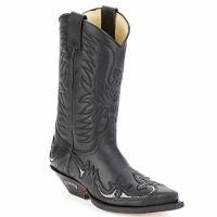 Sko Chikke støvler Sendra boots CLIFF Sort