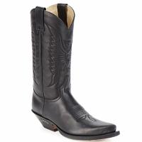 Sko Chikke støvler Sendra boots FLOYD Sort