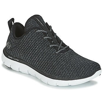 Sko Dame Lave sneakers Skechers FLEX APPEAL 2.0 Sort