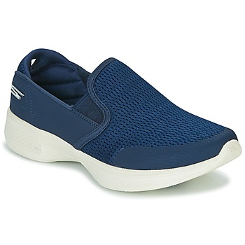 Sko Dame Slip-on Skechers GO WALK 4 Marineblå