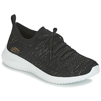 Sko Dame Lave sneakers Skechers ULTRA FLEX Sort