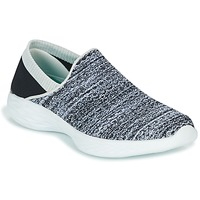 Sko Dame Slip-on Skechers YOU Sort / Hvid