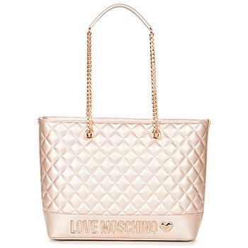 Tasker Dame Shopping Love Moschino JC4003PP15 Pink / Guld