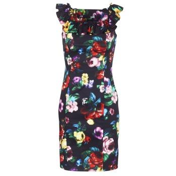 textil Dame Korte kjoler Love Moschino WVG3100 Sort / Flerfarvet
