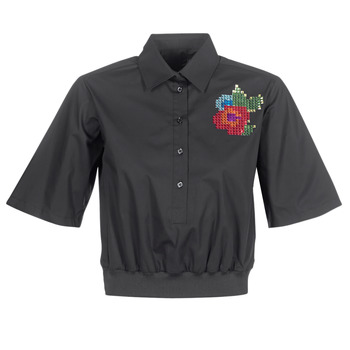 textil Dame Skjorter / Skjortebluser Love Moschino WCC5401 Sort