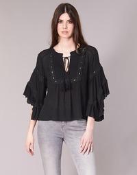 textil Dame Toppe / Bluser See U Soon 8112057 Sort