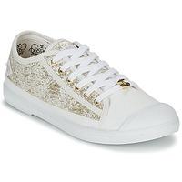 Sko Dame Lave sneakers Le Temps des Cerises BASIC 02 Guld