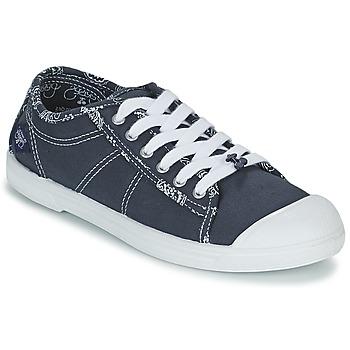 Sko Dame Lave sneakers Le Temps des Cerises BASIC 02 Blå