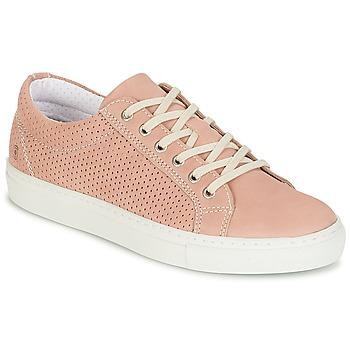 Sko Dame Lave sneakers Casual Attitude IPINIA Pink